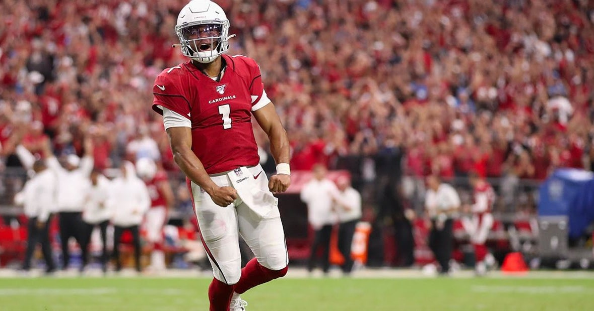 Marcus Spears laughs off Kyle Allen simulating Kyler Murray