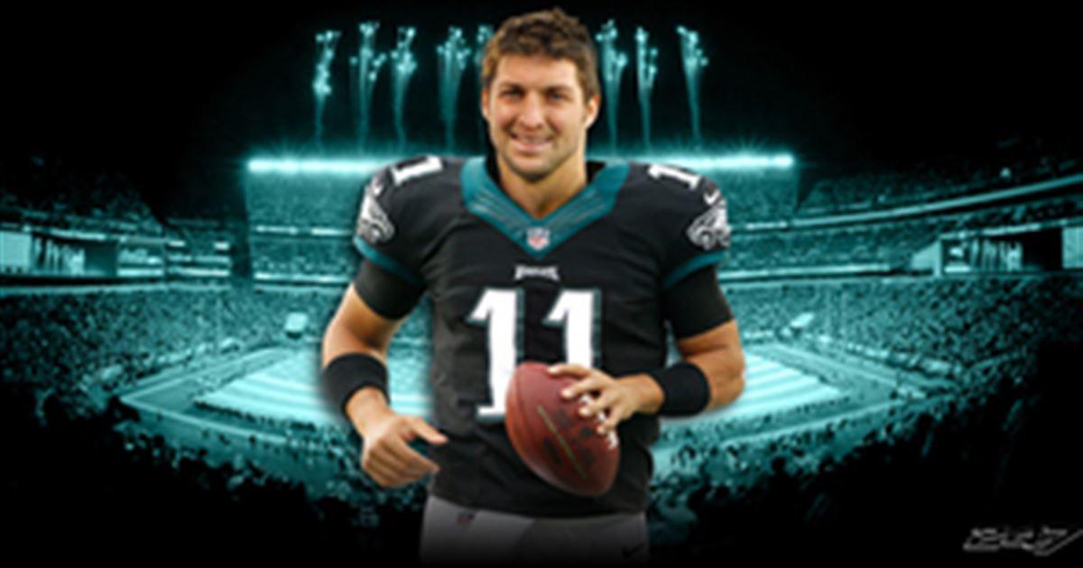 ... Tim Tebow to wear No. 11 for Philadelphia Eagles ... b9885a65b