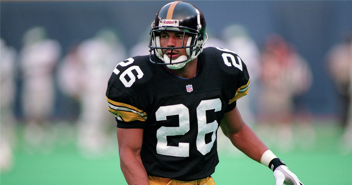 quality design a4164 ffbd4 Rod Woodson, former Steelers take part in team fantasy camp