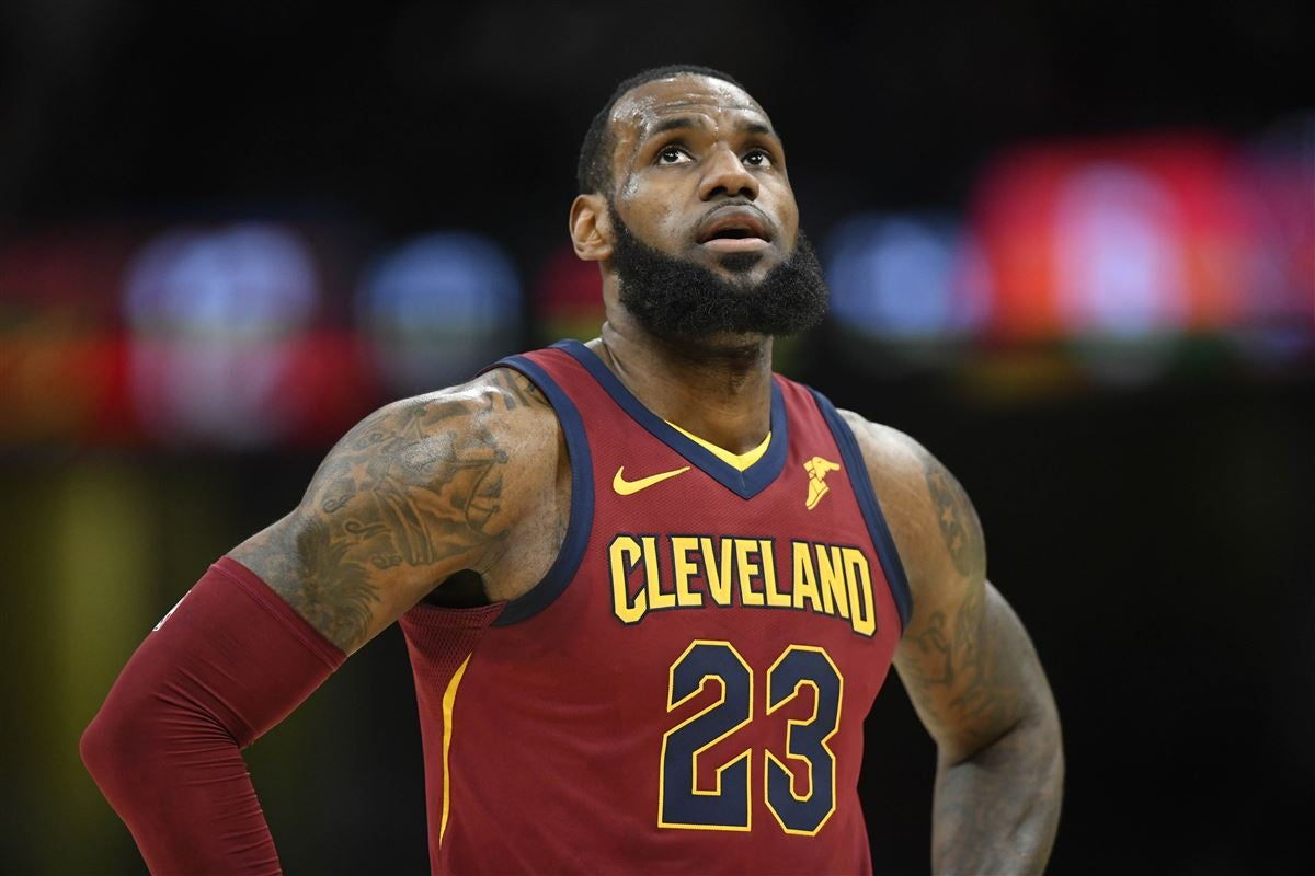 reputable site 3f092 7b5c1 LeBron James jerseys being sold for cheap ahead of free agency