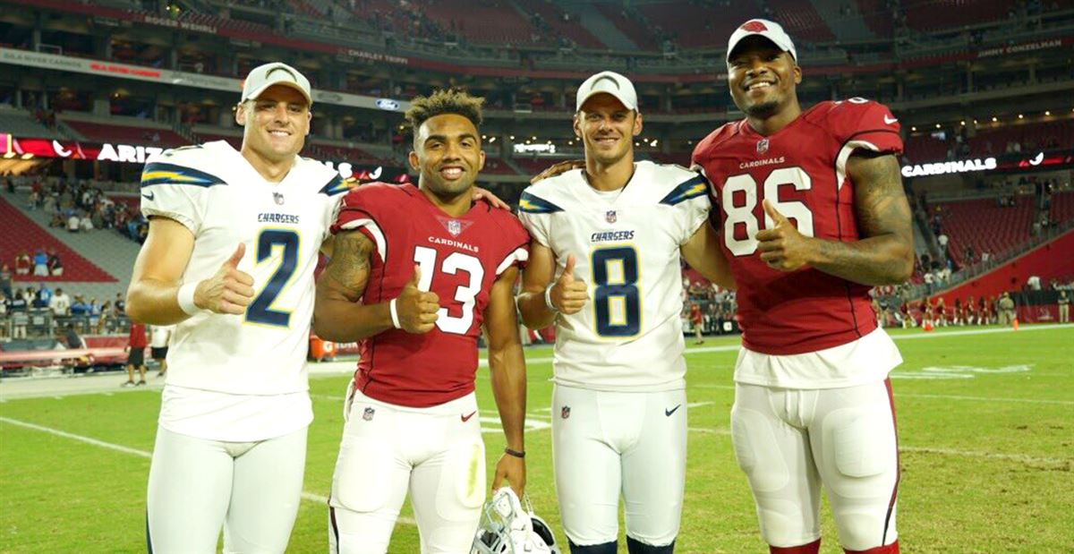 LOOK: Four Aggies together after NFL preseason opener