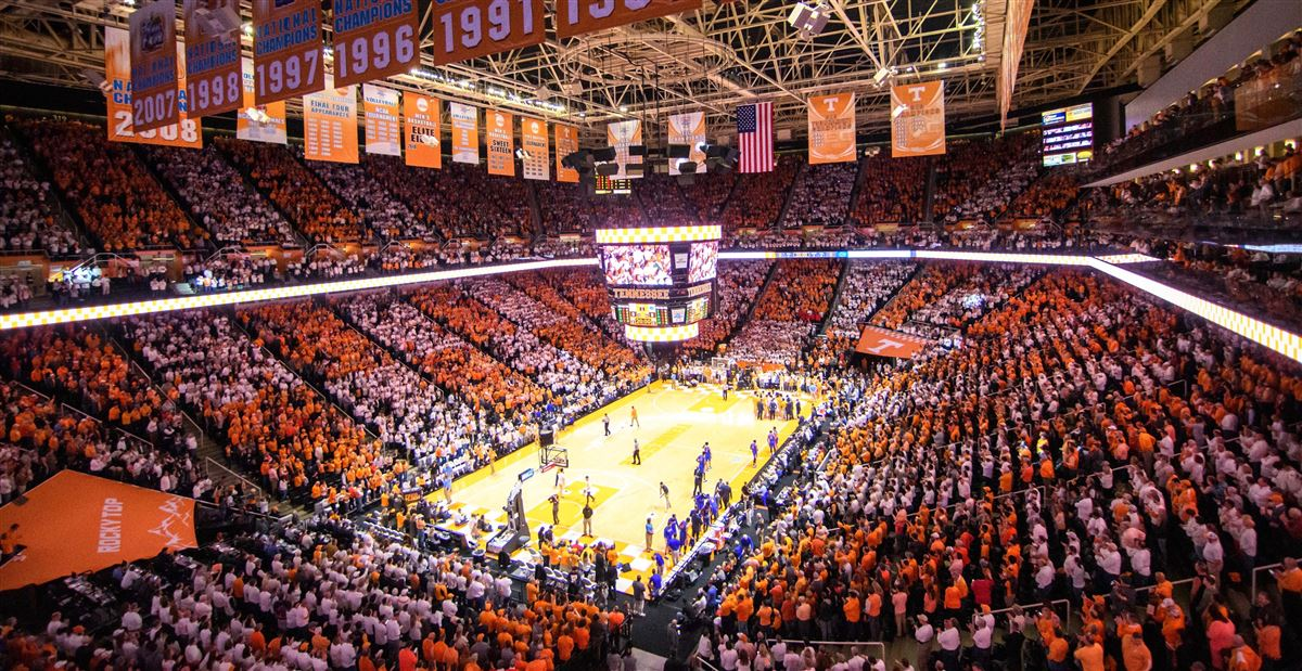 Tennessee Basketball Among The Elite In National Attendance