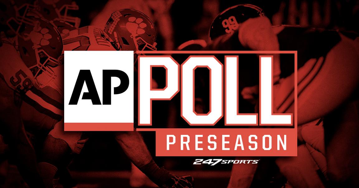 Preseason AP Top 25 college football poll released