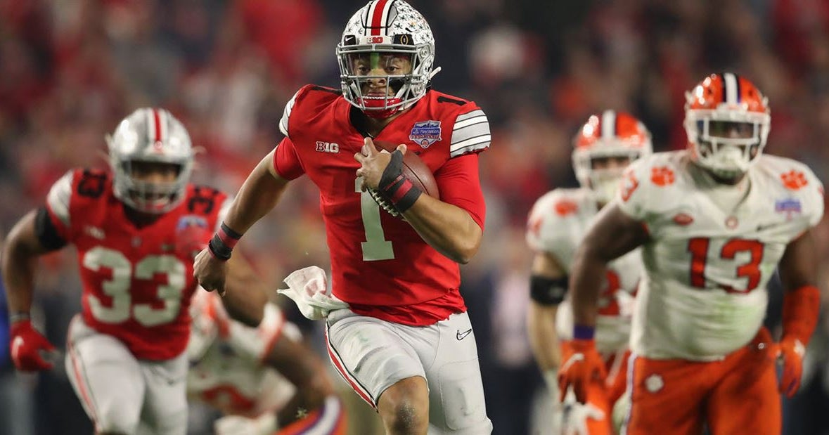 Justin Fields mentions possible 30 for 30 on Ohio State season