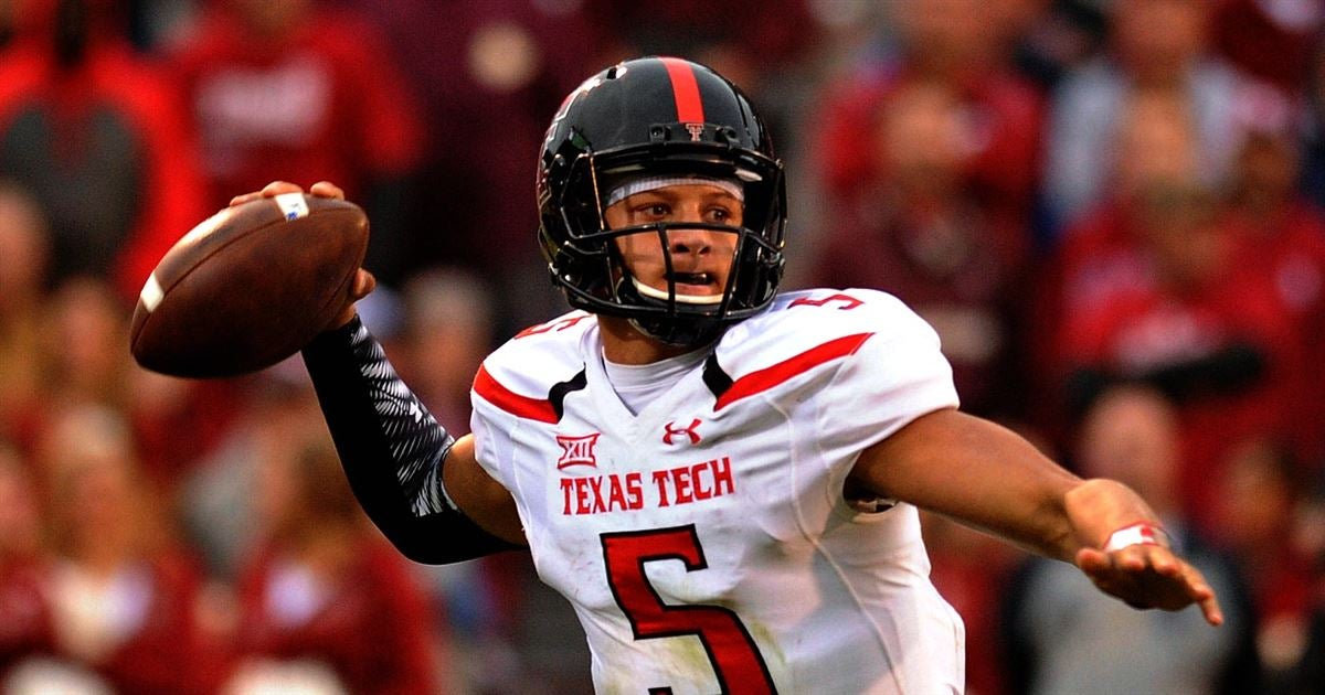 Texas Tech Red Raiders: Patrick Mahomes' journey from pitcher to Heisman contender