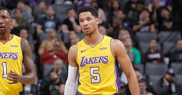 reputable site 77b8c 350d0 Josh Hart Expected More Opportunities with the Ball Last Year. Los Angeles  Lakers logo