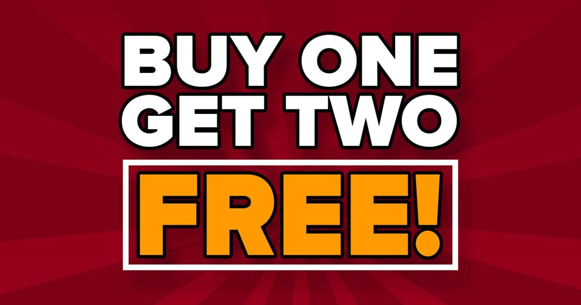 FLASH SALE - Buy one month, get two FREE!