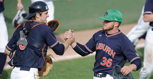 Late comeback gives Auburn a 5-3 win and completes sweep ...