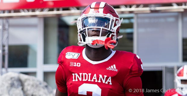 Indiana depth chart vs. Maryland