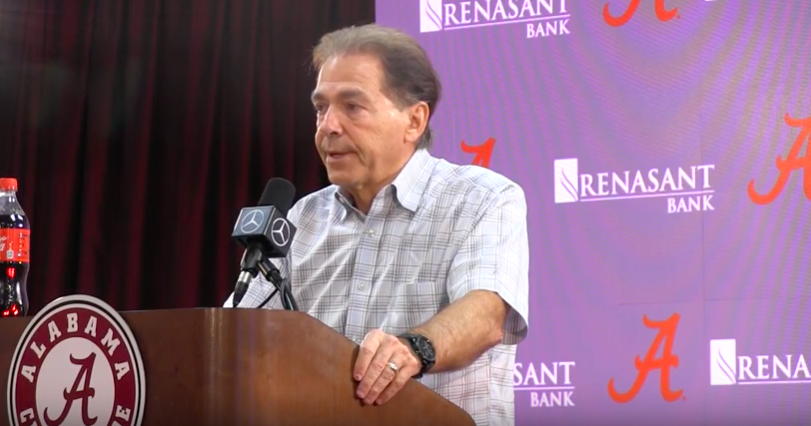 Everything Saban said in first press conference of Arkansas week