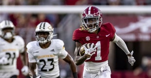 Week 4's top 5 transfer performers: Alabama's dangerous Jameson Williams leads the way
