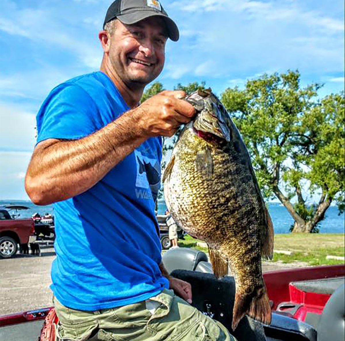 New york state record smallmouth bass caught for New york state fish