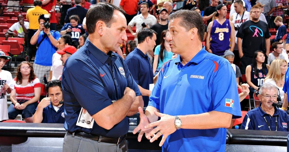 Calipari Appears To Takes Another Shot At Coach K And Duke