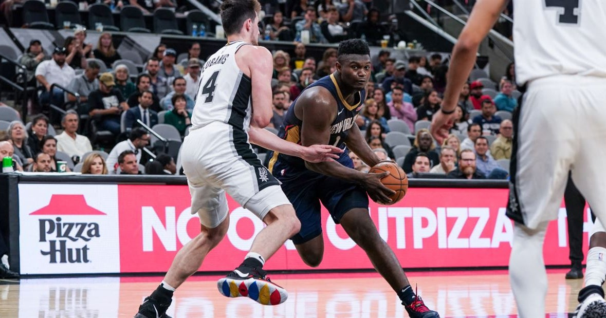 Zion Williamson will miss Pelicans game vs. Knicks due to injury