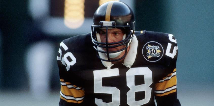 0986207ca Steelers' legend Jack Lambert makes rare public appearance