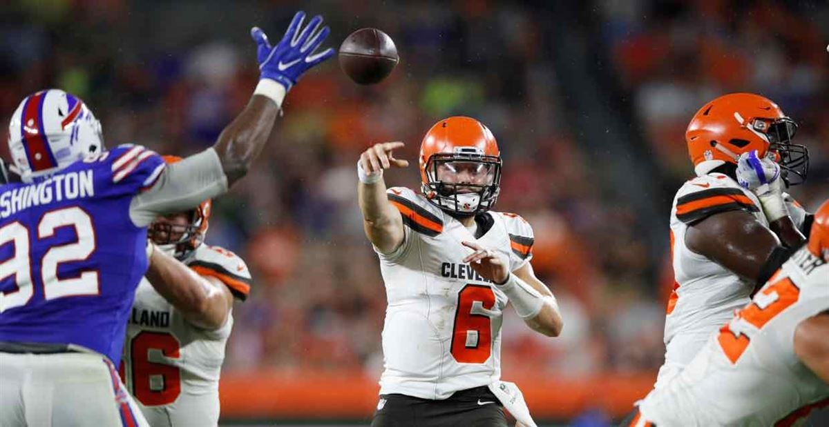 Mayfield leads go-ahead drive in fourth quarter vs. Bills
