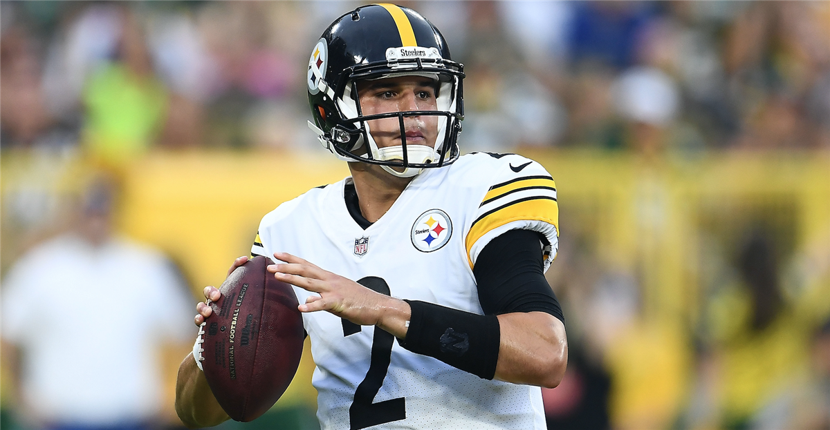 99d34b68db0 Mason Rudolph wants chance to be Steelers No. 2 quarterback