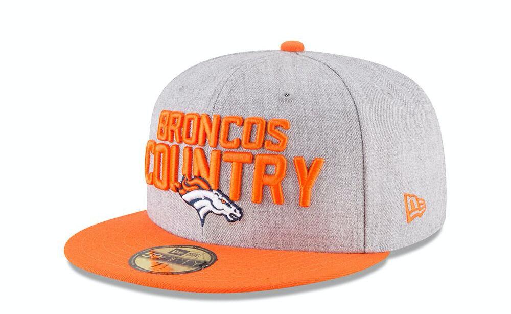 aa2ee3a8 Denver Broncos official 2018 NFL draft cap revealed