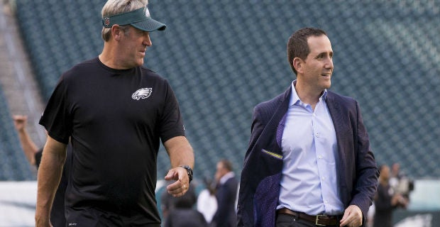 Eagles extend Doug Pederson and Howie Roseman's contracts