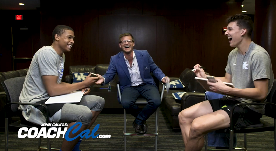 Steve Zahn, Keldon Johnson prank call Coach Cal
