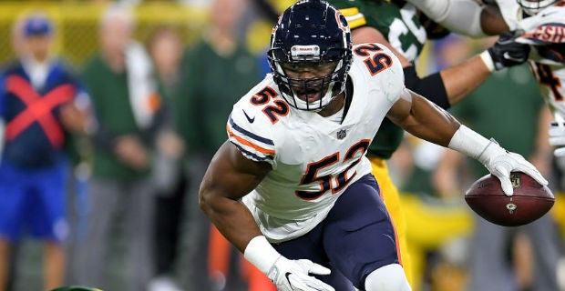 Reaction to Khalil Mack s Bears debut 66c74d736
