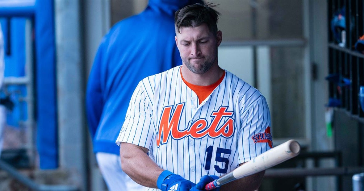 Tim Tebow not giving up on dream of Major League Baseball