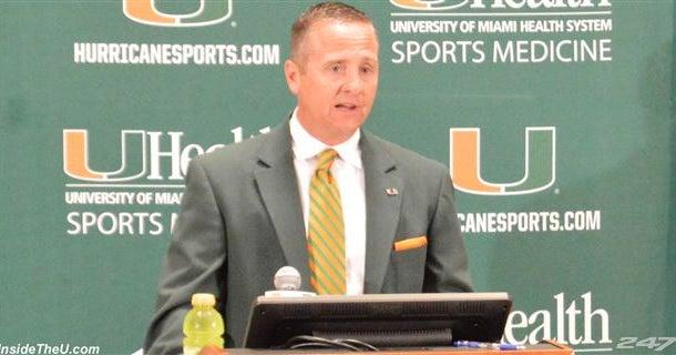 Miami AD Blake James supports spring CFB season, if need be