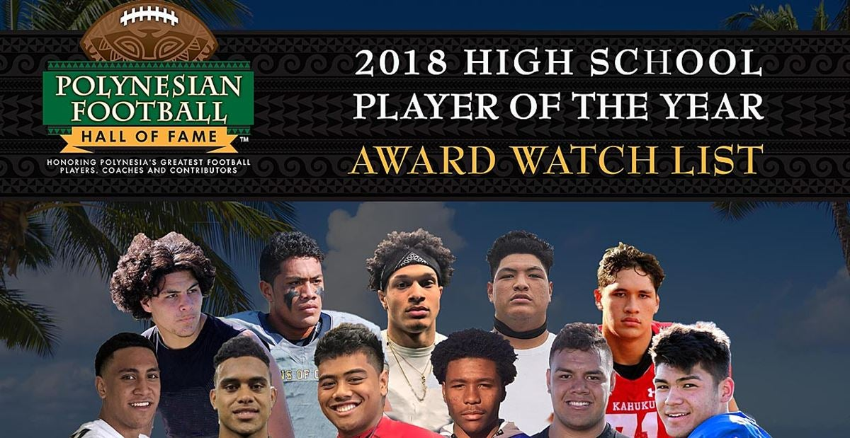 2018 Watch List for Polynesian High School Football POY Award