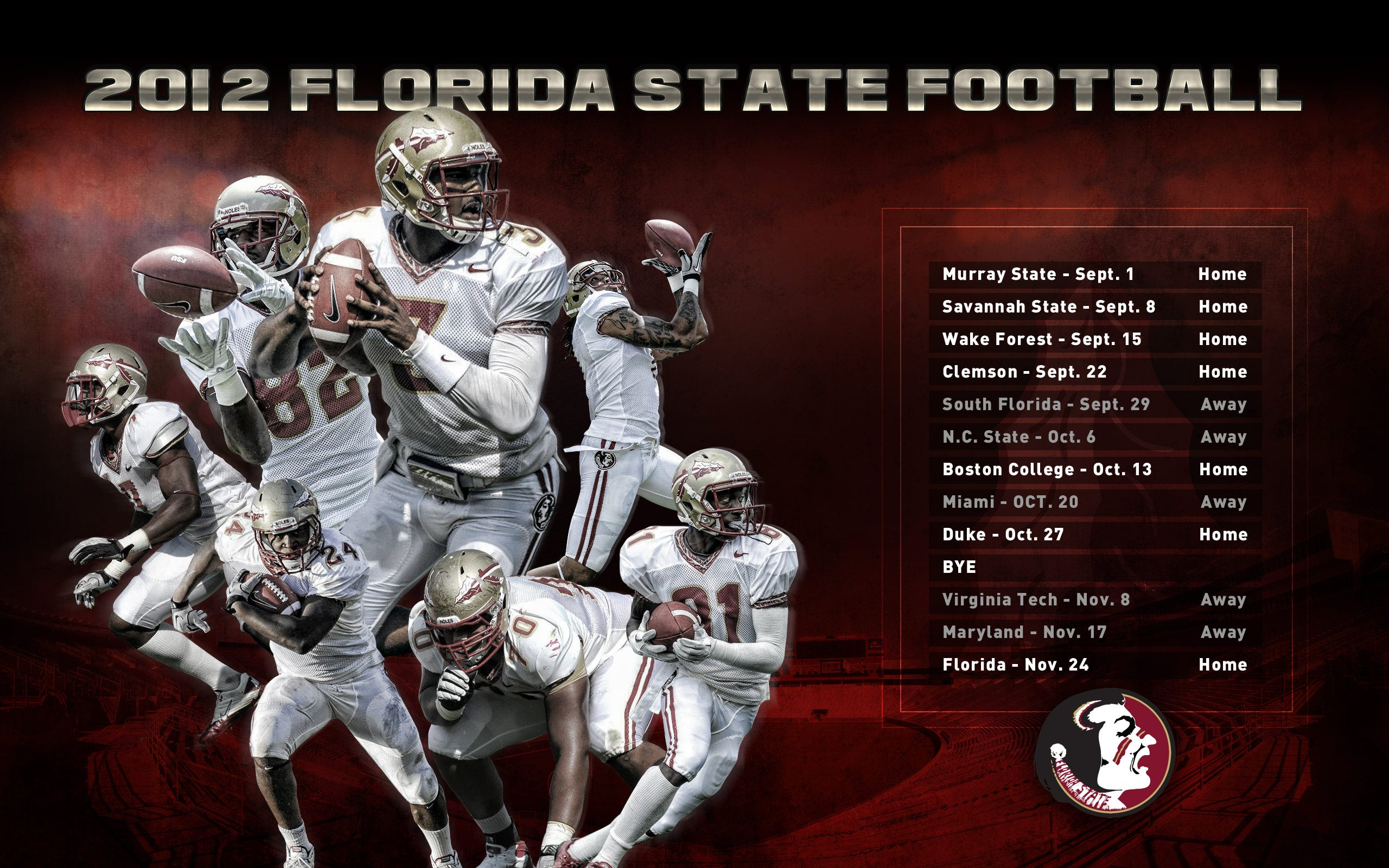 Fsu 2012 football wallpaper copy to clipboard voltagebd Choice Image
