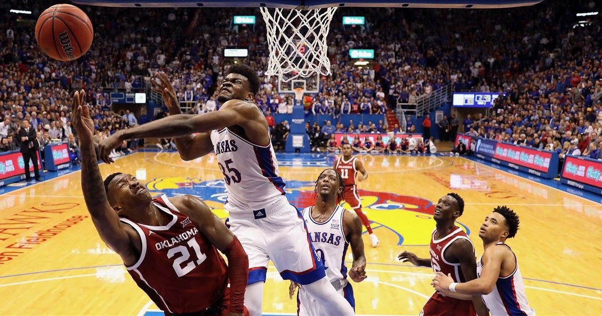 Sooners downed 87-70 by Kansas in Lawrence
