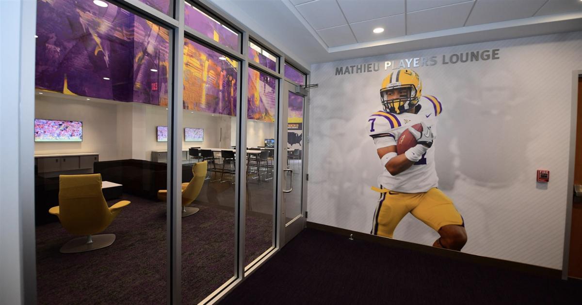 "LSU reveals ""Mathieu Players Lounge"""