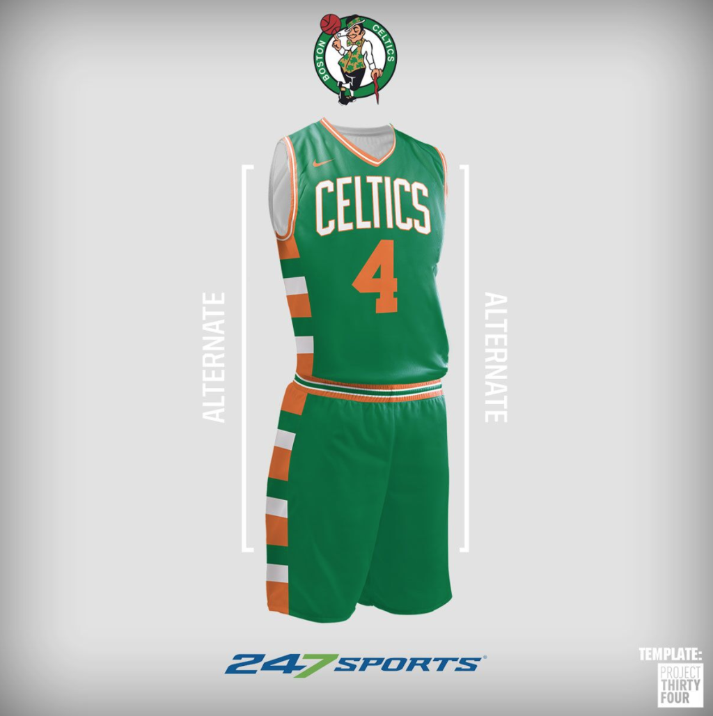 Look nba uniform concepts for some of the league best teams png 1024x1028  Official boston celtics 3133f9b7f