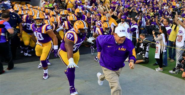 super popular 6da4b 66701 LSU to wear purple against South Carolina