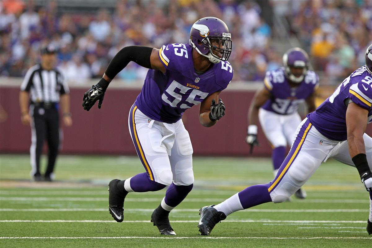 WATCH Anthony Barr knocks out Larry Donnell