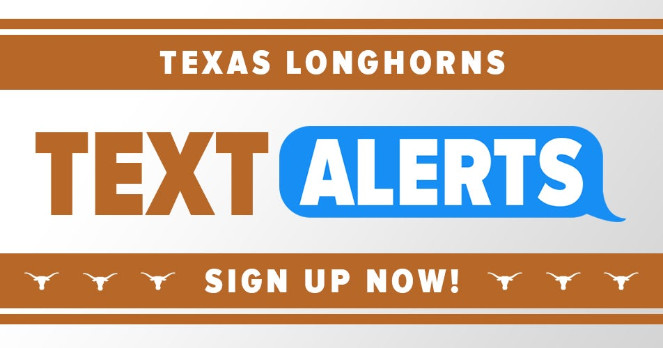 Sign up for Horns247 free breaking news text alerts