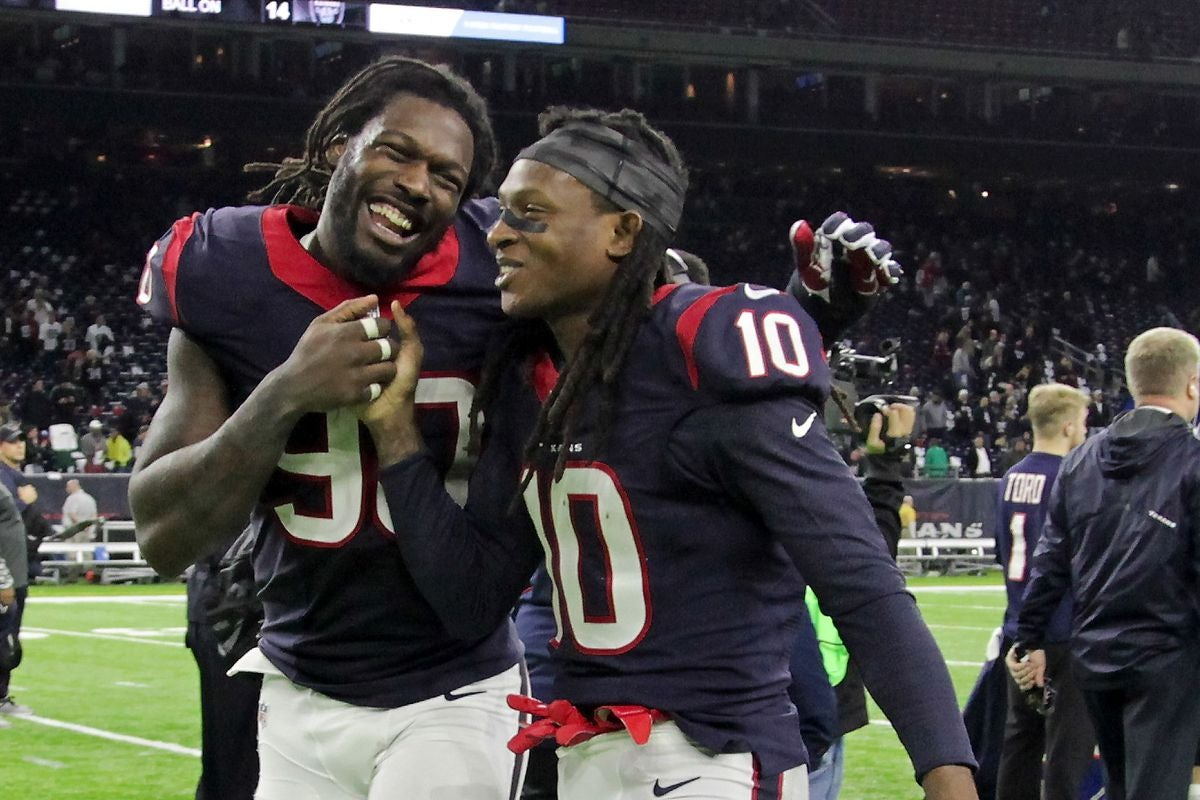 new product 45829 0d451 Jadeveon Clowney and DeAndre Hopkins Selected to the Pro Bowl