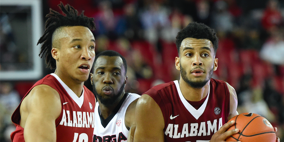 Alabama Starting Lineup >> Projecting Alabama Basketball S 2017 18 Starting Lineup