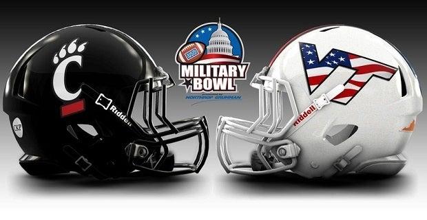 Photo: VT to wear Stars & Stripes helmets for Military Bowl