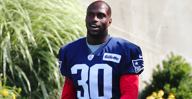 Jason McCourty reacts to first game with the Patriots