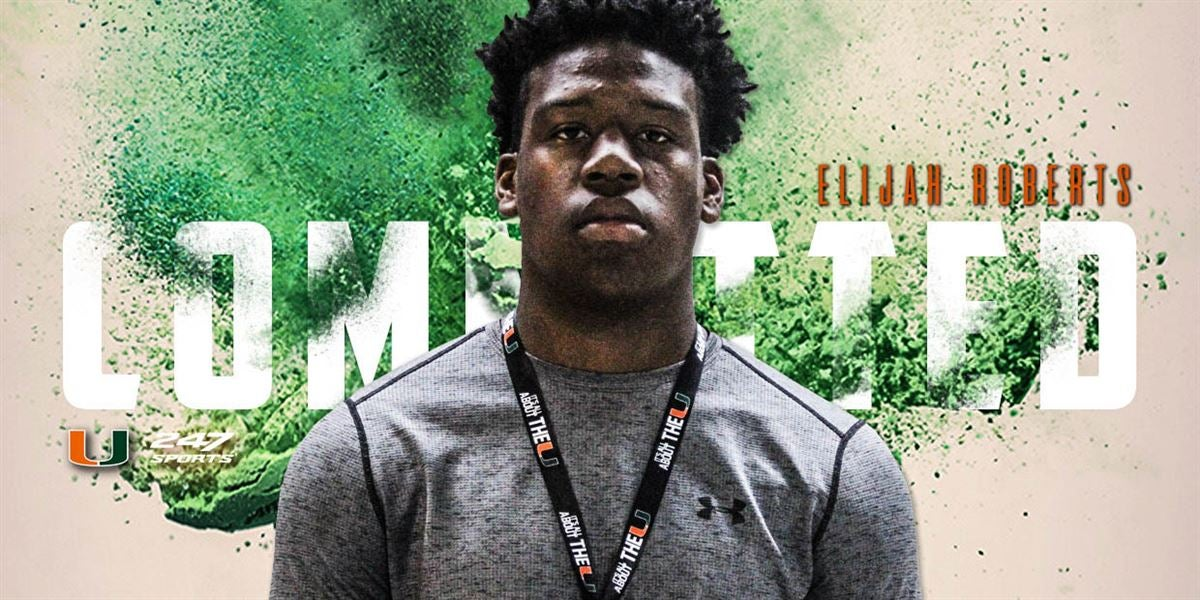 Breaking: 2020 DL Roberts Commits to Miami