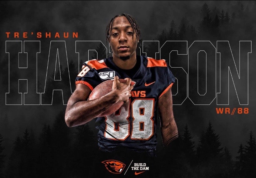 4-star WR Tre'Shaun Harrison officially joins Oregon State