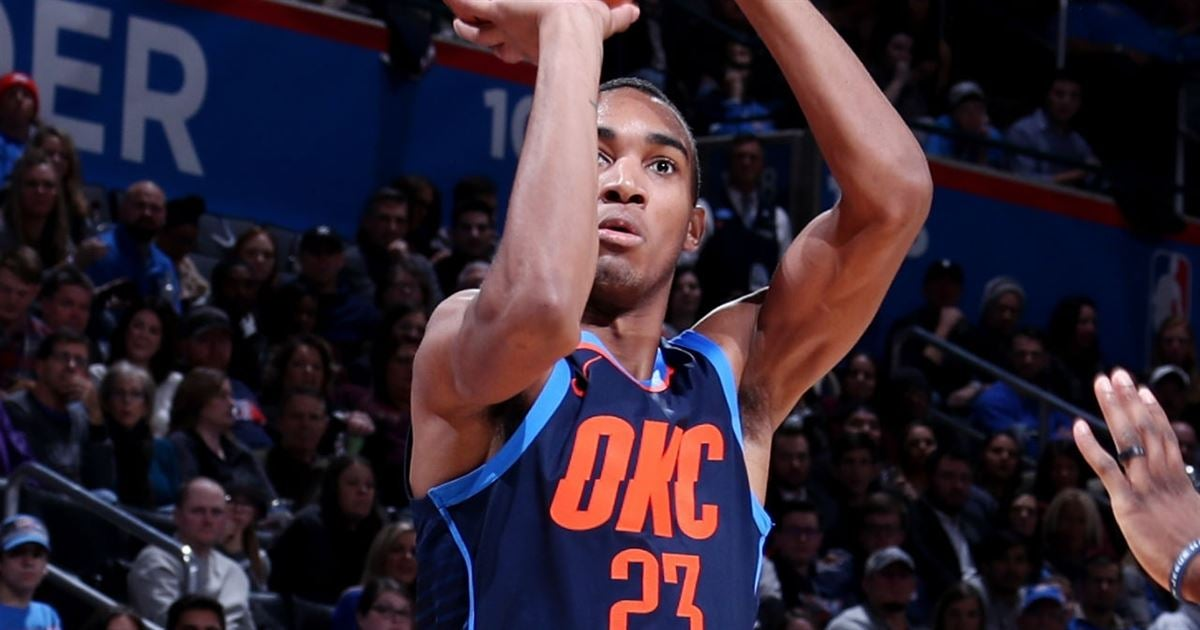 Terrance Ferguson (illness) will start tonight versus Pelicans