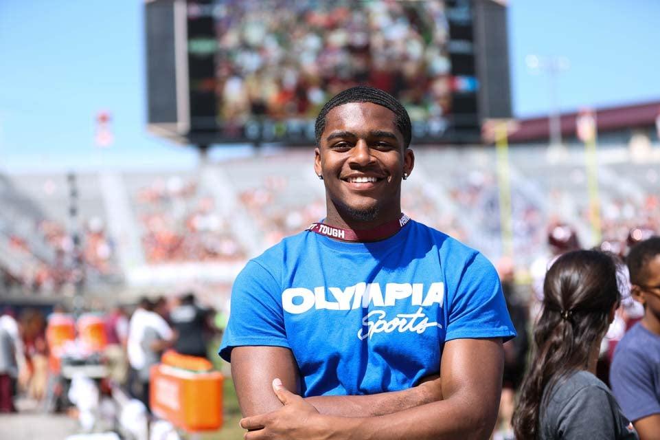 Photos: Recruits visit Virginia Tech for the spring game