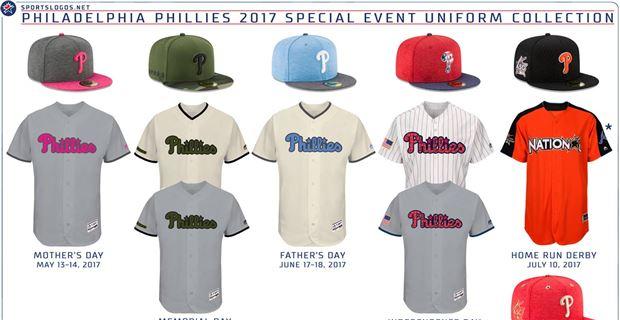 quality design c6ce1 25c77 Phillies Special Events Uniforms Unveiled