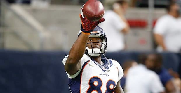 Demaryius Thomas held out of Bears game due to sore wrist