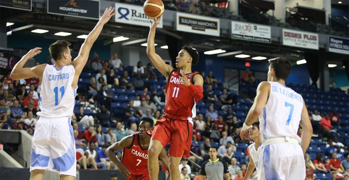 Andrew Nembhard: Florida signee goes off at FIBA, talks Gators