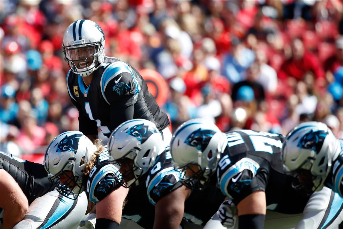 What is the best case scenario for the Panthers' offensive line?