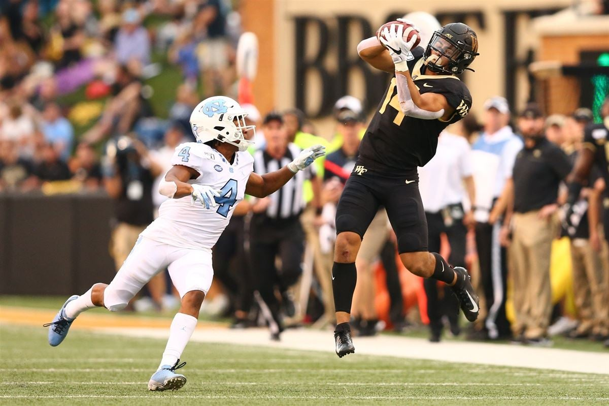 Surratt sets career mark in Wake Forest 24-18 win over UNC