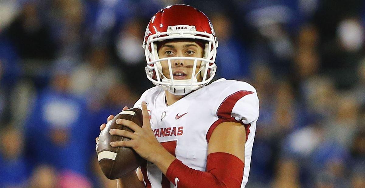 Nick Starkel moving on from Arkansas