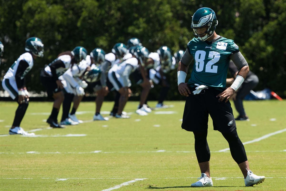 Latest injury updates as Eagles return to practice
